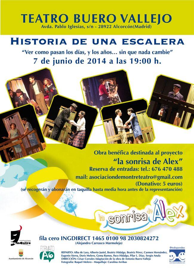 La sonrisa de alex historia de una escalera - Teatro buero vallejo alcorcon ...