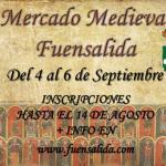 Mercadillo medieval Fuensalida 5-09-15